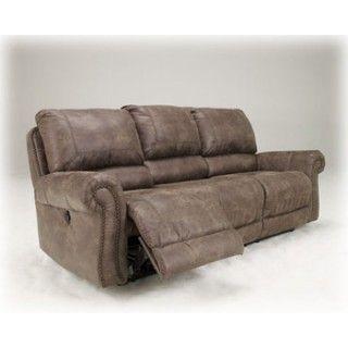 Oberson Gunsmoke Reclining Power Sofa Bed Mattress Sale