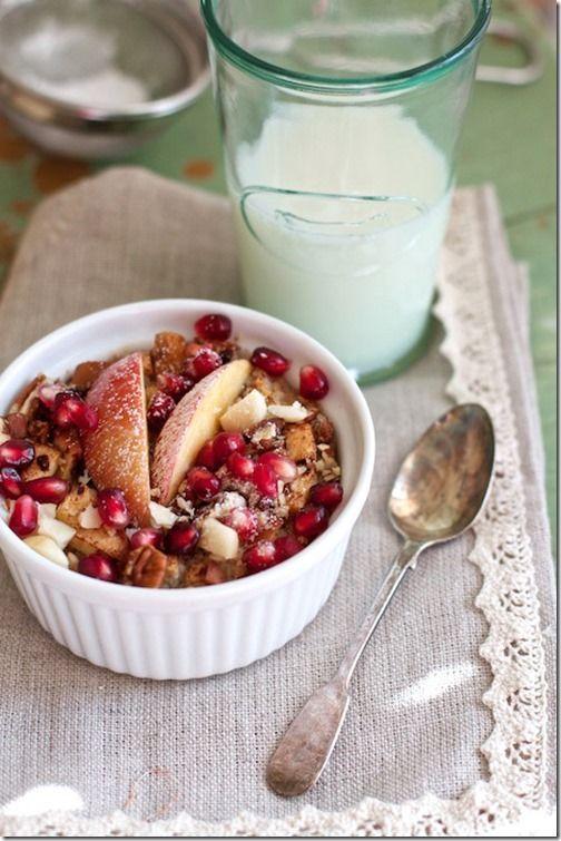 Apple Cinnamon Baked Oatmeal | Meals & sweets!! | Pinterest