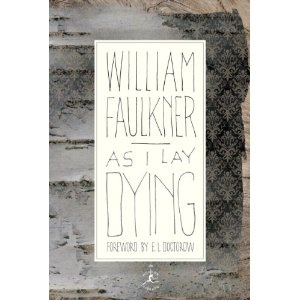 William faulkner as i lay dying thesis