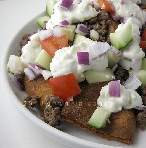Greek Nachos | I'd eat that! | Pinterest