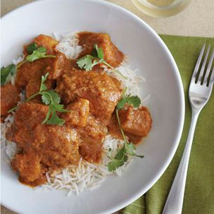 Vindaloo-Spiced Chicken Thighs with Coconut-Tomato Stew. Curry ...