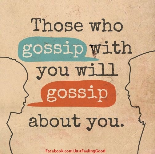 quotes on gossip and rumors feed your mind