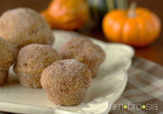 Miniature Pumpkin Doughnut Muffins   That's sweet.   Pinterest