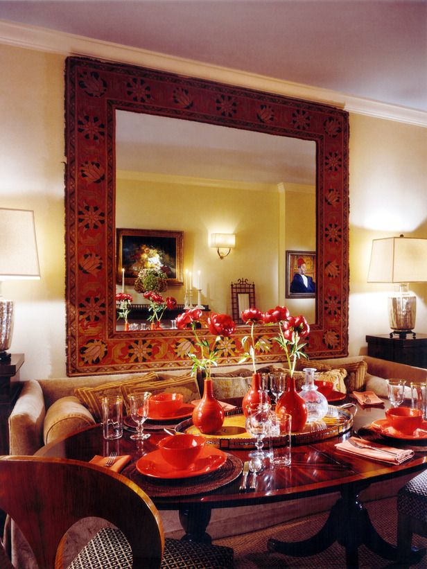 Mirrors for dining rooms