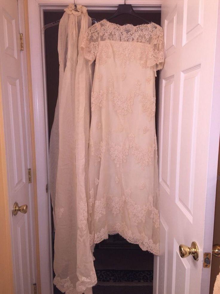 Vintage cream wedding dresses pictures