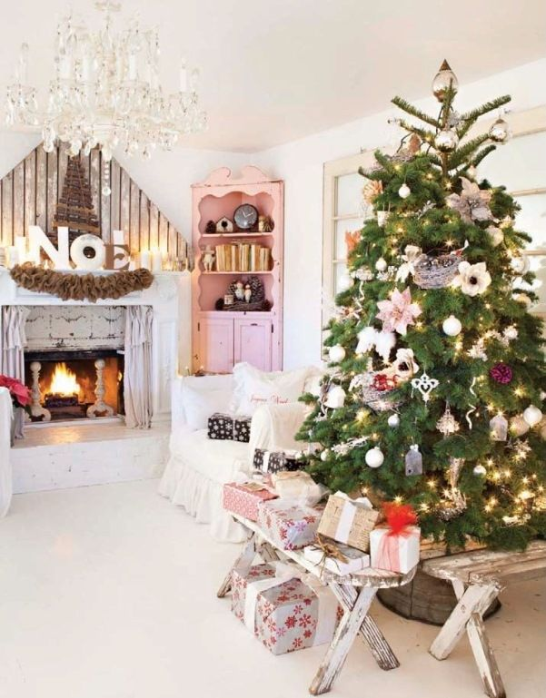 country christmas decor christmas ideas pinterest