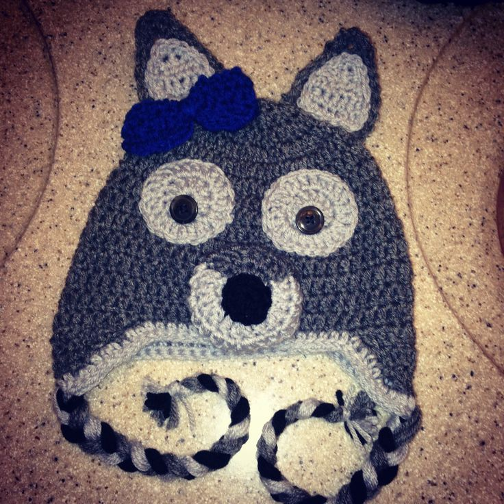 wolf crochet beanie hat pattern Car Tuning