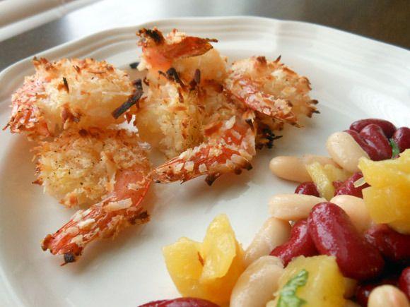 Skinny Coconut Shrimp