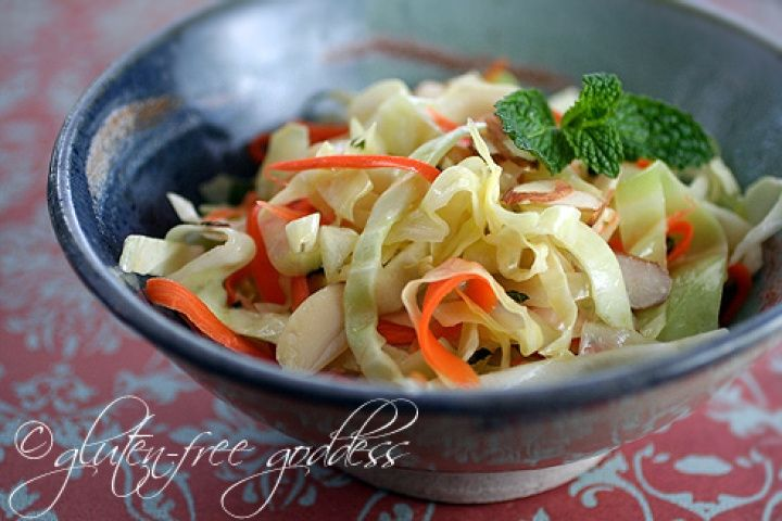 Warm Coleslaw Recipe with Chili-Lime Dressing Recipe
