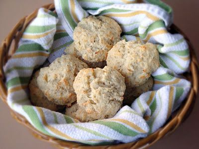 Parmesan-Black Pepper Drop Biscuits   Alida's Kitchen