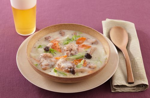 白菜のクリーム煮 -