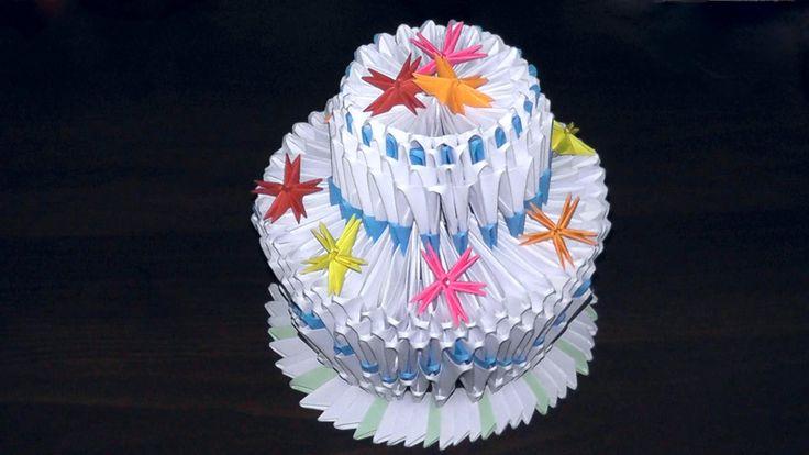 Картинки с аригами в виде тортов