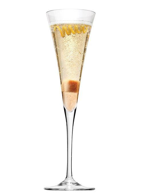 champagne cocktail recettes pour no l chin chin. Black Bedroom Furniture Sets. Home Design Ideas