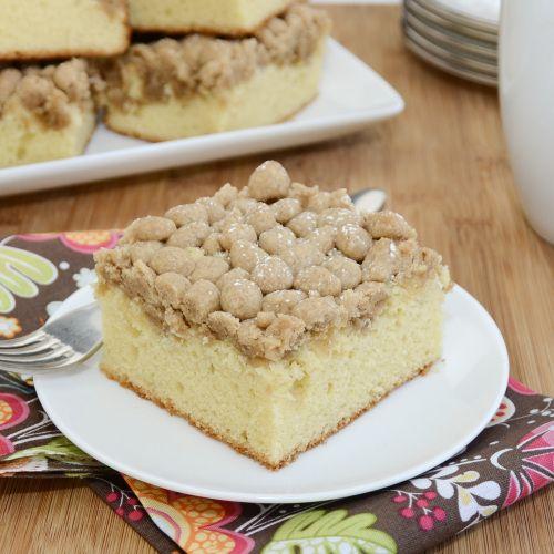 New York-Style Crumb Cake | Recipe