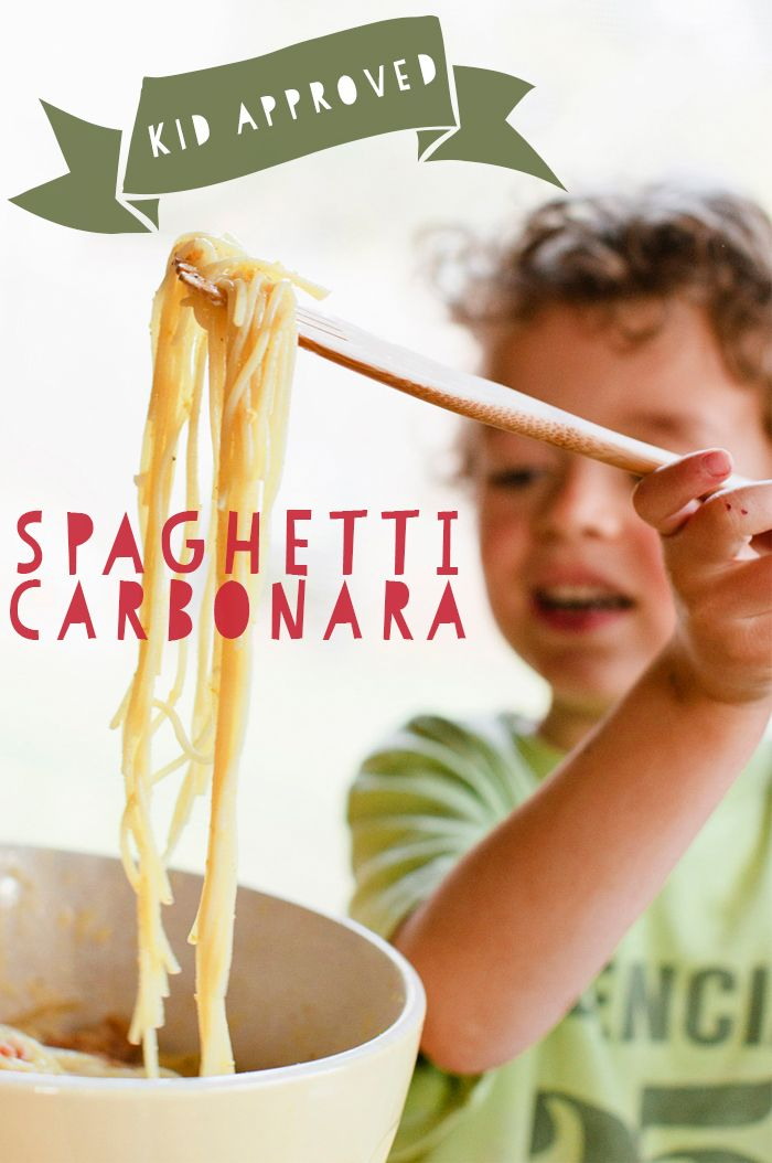 Deconstructed Kitchen: Spaghetti Carbonara by Guest Editor Bonnie ...