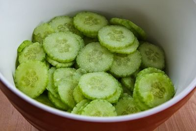 Recipe for Al's Famous Hungarian Cucumber Salad [from KalynsKitchen ...