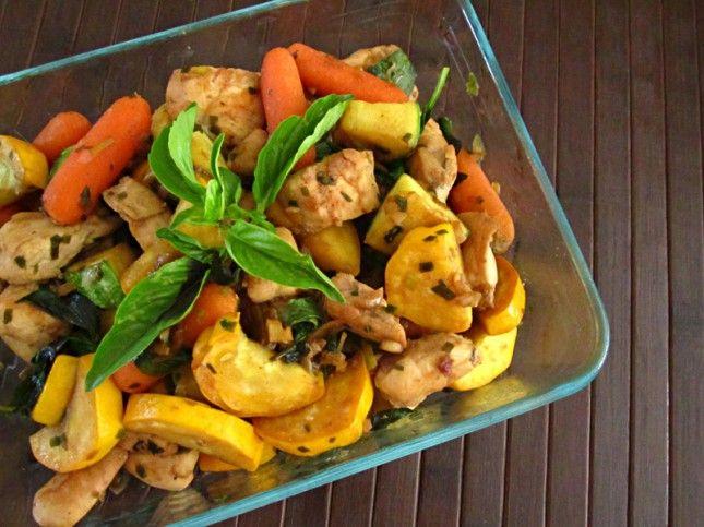 Basil Lime Squash Chicken | Recipes | Pinterest