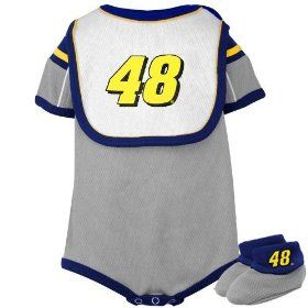 Jimmie johnson baby nascar baby clothes 48 jimmie johnson creeper