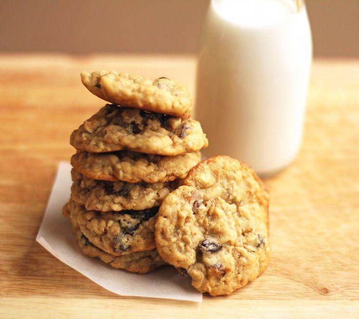 chewy oatmeal raisin cookies | Yummy Indulgence | Pinterest