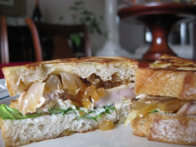 caramelized onion and gruyere sandwich recipes dishmaps and gruyere ...