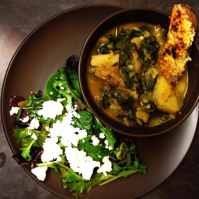 Kale and Potato Soup | Vegetarian Goodness | Pinterest