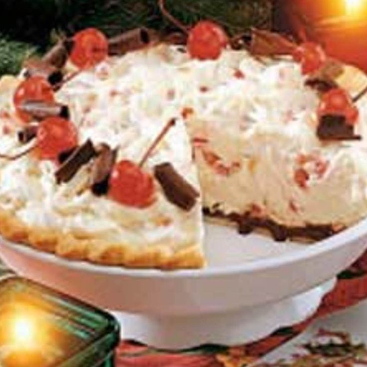 White Christmas Pie. | foods | Pinterest