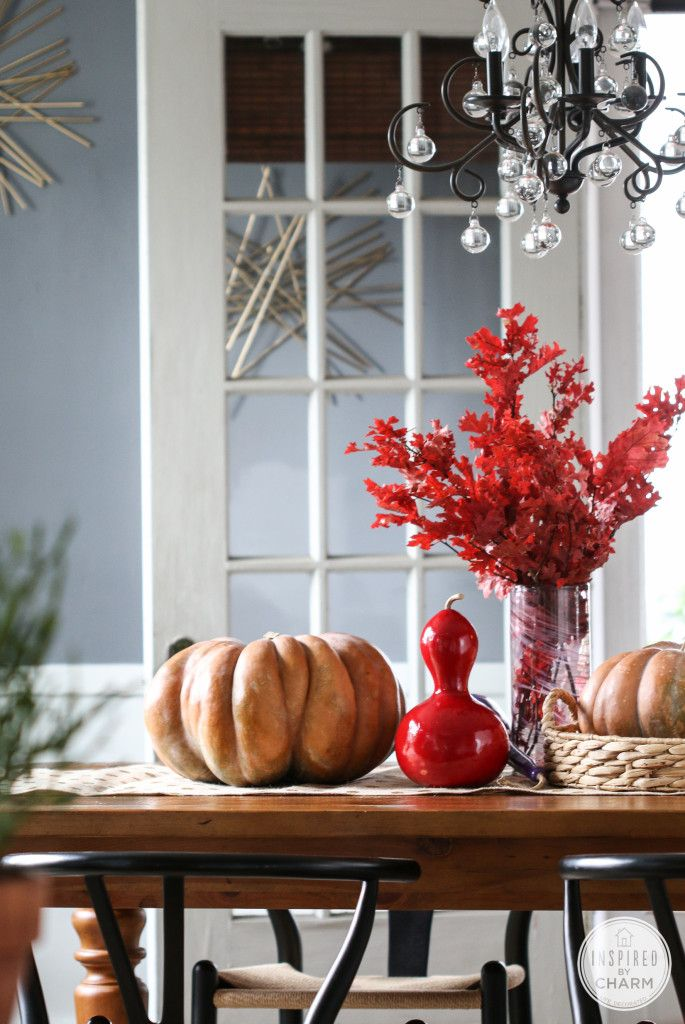 Colorful Fall Decorating