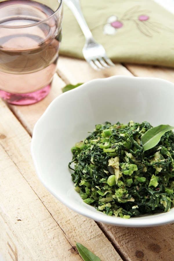 Broccoli Rabe Stir fry with Garlic and Cumin -- An interesting spiced ...