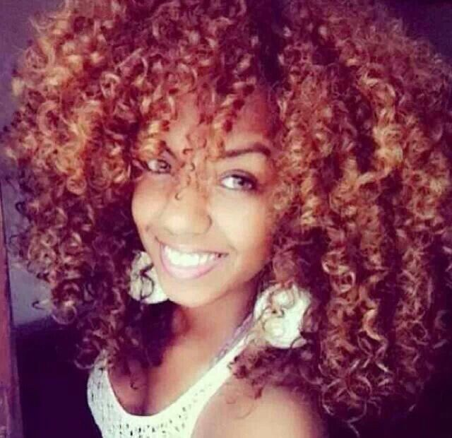 Crochet Hairstyles With Color : Crazy curls Natural Hair Styles Pinterest