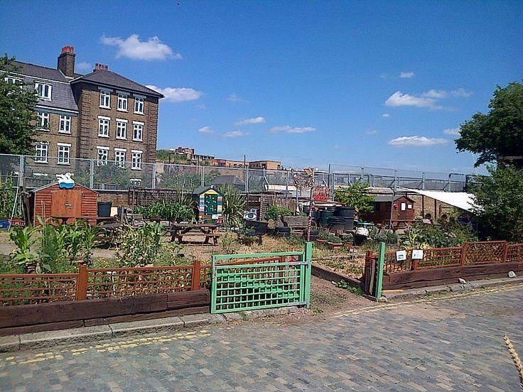 Spitalfields City Farm Cafe