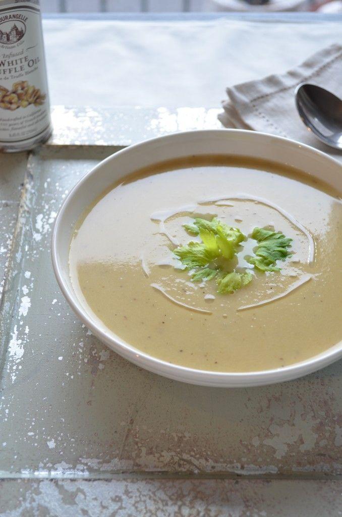 Celery Root Soup | soup | Pinterest