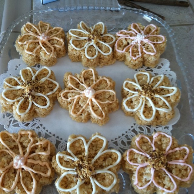Rice crispy treats | Brianna's Sweet 16 | Pinterest