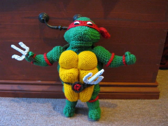Free Crochet Pattern Teenage Mutant Ninja Turtles : Crochet Teenage Mutant Ninja Turtle Crochet Pinterest
