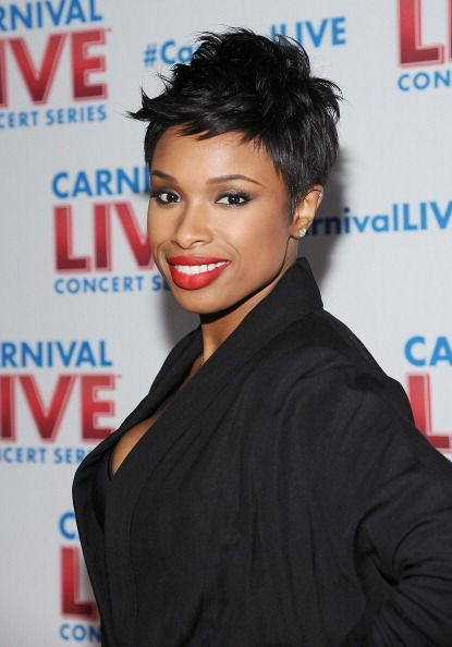 Jennifer Hudson short hair The Big Chop