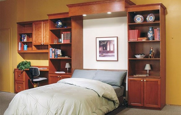 Wall bed or Murphy Bed for the Office.