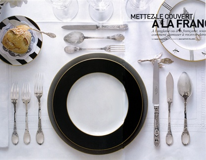 Russian Table Setting : Russian+Service+Table+Set+Up french-setting  Wedding ideas ...