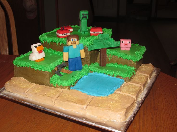 Minecraft Cake Decorations Cake Ideas and Designs