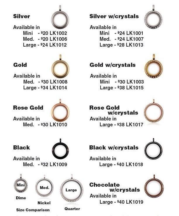 origami owl locket sizes amp prices origami owl jewelry