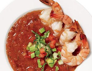 Shrimp Gazpacho Recipe | Food | Pinterest