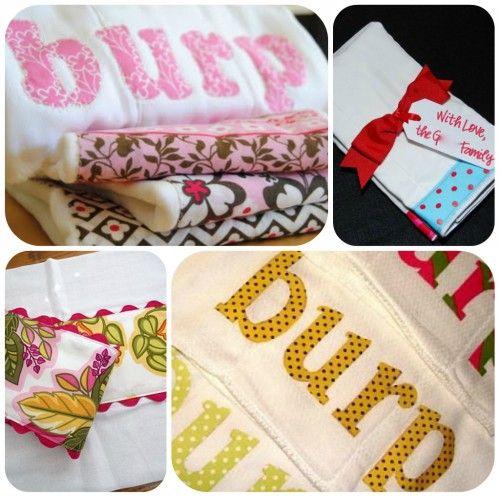 60 popular diy homemade baby ideas baby shower gifts burp cloths