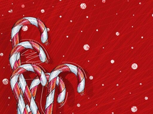 Sketchy candy canes wallpaper christmas wallpapers pinterest