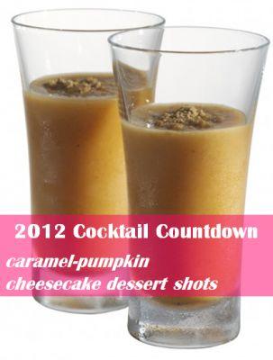 ... Countdown: Caramel-Pumpkin Cheesecake Dessert Shots | GirlsGuideTo