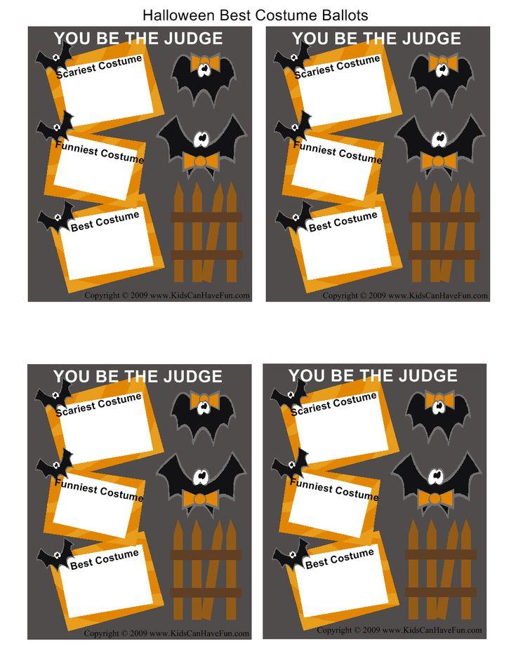 best costume ballots