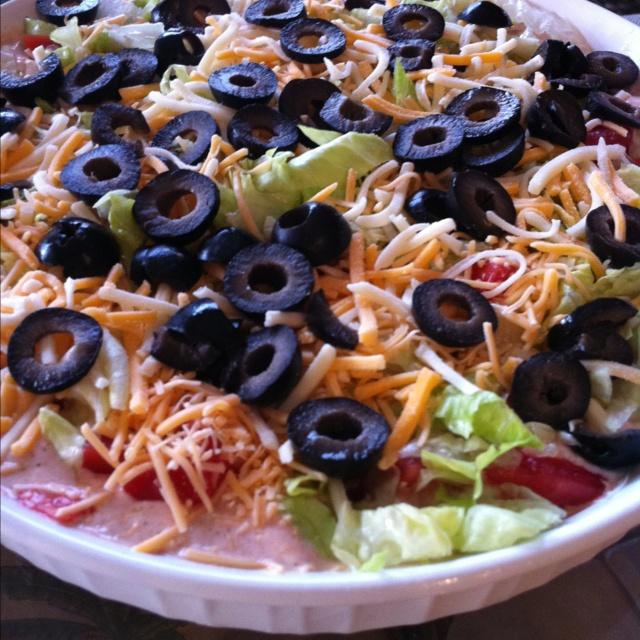 Healthy taco dip | Recipes | Pinterest