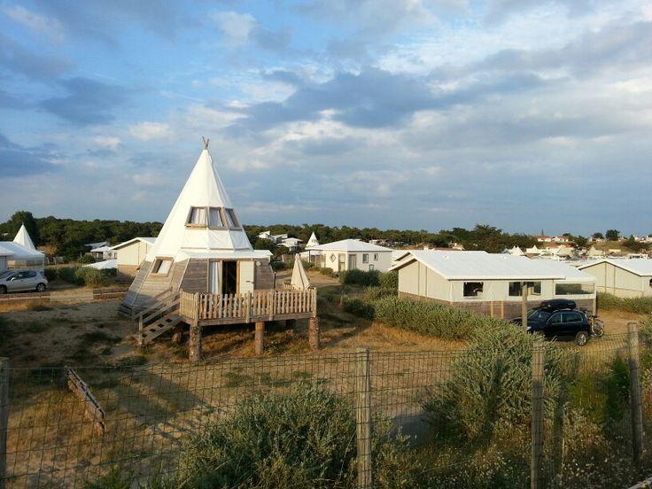 Camping le Midi. Ile de Noirmoutier. France