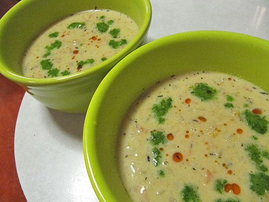 Miso-Ginger Clam Chowder, love the Asian flavors here