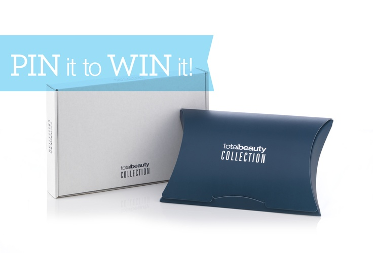 Want to know what's inside? Re-pin for a chance to win a FREE box! Then, visit TotalBeauty.com/Collection to learn what it's all about and score more chances for awesome prizes!