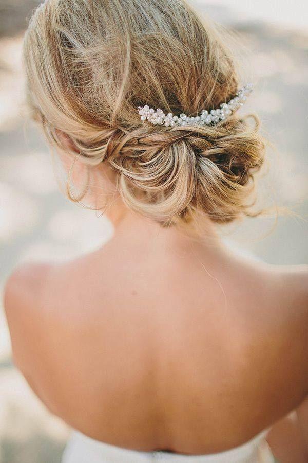 BEAUTIFUL SIMPLE WEDDING HAIR