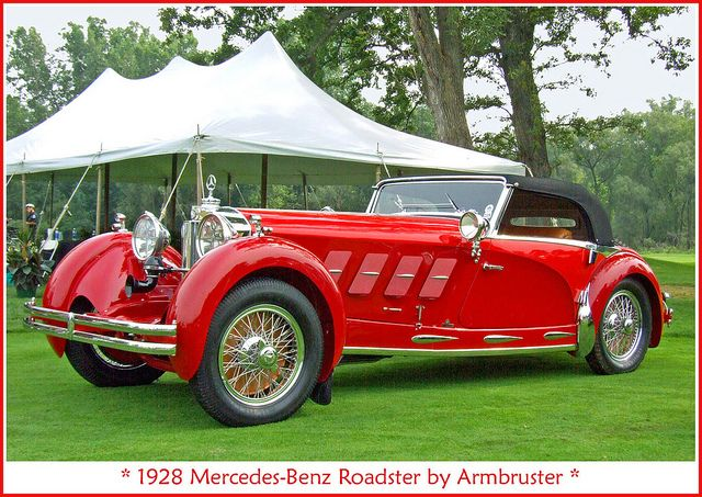 1928 mercedes benz roadster voitures cars pinterest for 1928 mercedes benz