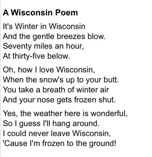 joke poems for valentine's day